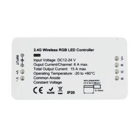8 Zone RGB Controller Receiver 12/24V 15A 1