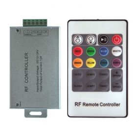 RGB RF Controller with Card Remote 1
