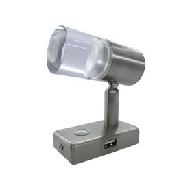 Reading Light Touch Dimmable USB Port - 1W 12/24V 1