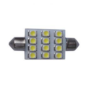 Festoon 33mm - 12 LED 12V