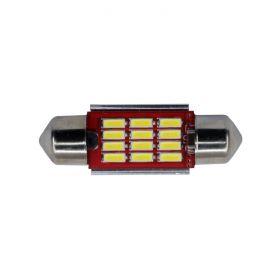Festoon 36mm Premium CANbus - 12 LED 10-30V 1