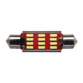 Festoon 41mm Premium Error-Free - 12 LED 12/24V 1