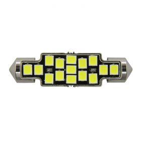 Festoon 41mm X-Series Error-Free - 15 LED 12-24V 1