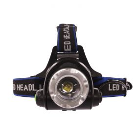 Headlamp Rechargeable 1 LED - Zoomable 3-Mode 1
