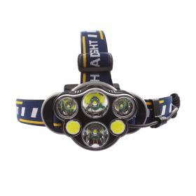 Headlamp Rechargeable 6 LED - 8-Mode 1