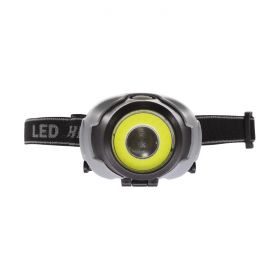 Headlamp Round COB LED - 3-Mode 3x AAA 1