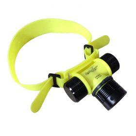 Headlamp IP68 Waterproof 1-LED 4-Mode