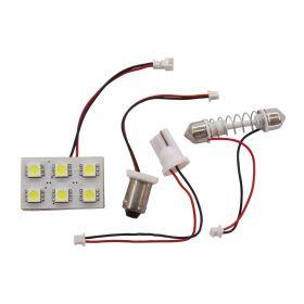 Multi Light - 6 LED T10/BA9S/Festoon