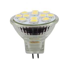 MR11 2W 12-LED 12V WW 1