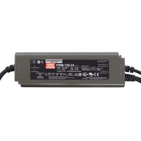 Power Supply 24V 5A 120W - 0-10V Dimmable - Meanwell PWM Series 1