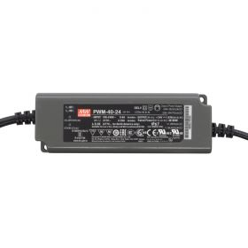 Power Supply 24V 1.67A 40W - 0-10V Dimmable - Meanwell PWM Series 1