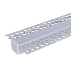 Aluminium Strip Light Channel - Plasterboard 1.5m 1