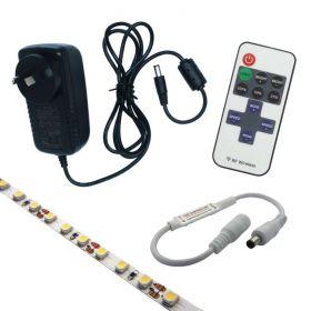 3M Cool White Strip Light Kit with Mini RF Controller 1