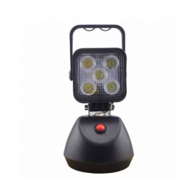 Spotlight 15W 60° Battery Rechargeable with Magnetic Base