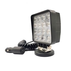 Spotlight 35W 30° 10-30V Cig Plug with Magnetic Base