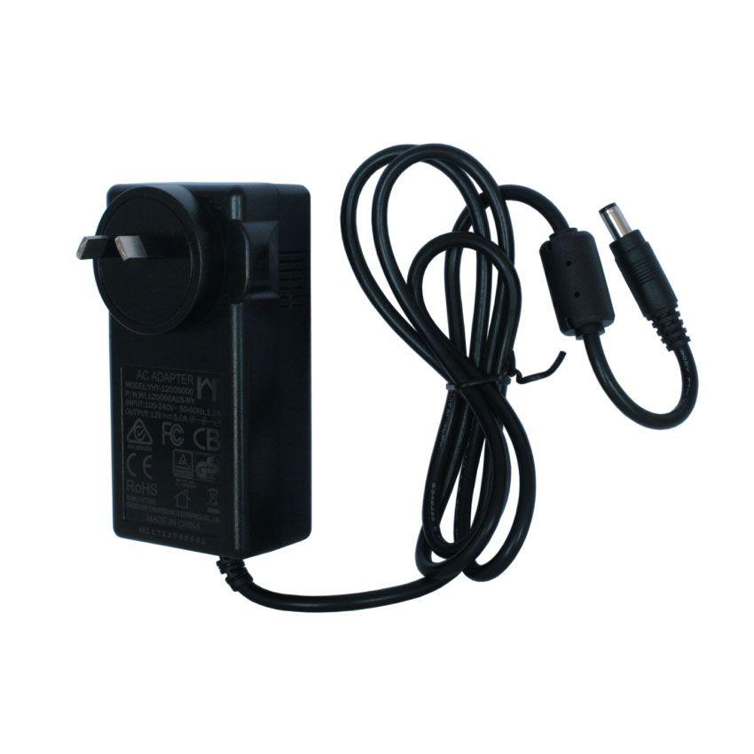 Wall Adapter Power Supply 12V 5A 60W