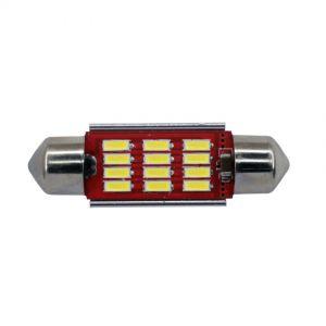 Festoon 39mm Premium CANbus - 12 LED 10-30V 1