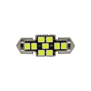 Festoon 31mm X-Series Error-Free - 9 LED 12-24V