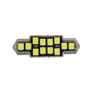 Festoon 36mm X-Series Error-Free - 12 LED 12-24V