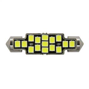 Festoon 41mm X-Series Error-Free - 15 LED 12-24V