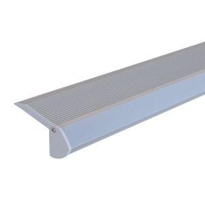 Aluminium Strip Light Channel - Stair Nosing 1.5m 1