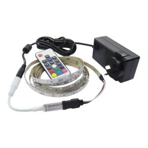 3M RGB Strip Light Kit with Mini RF Controller 1