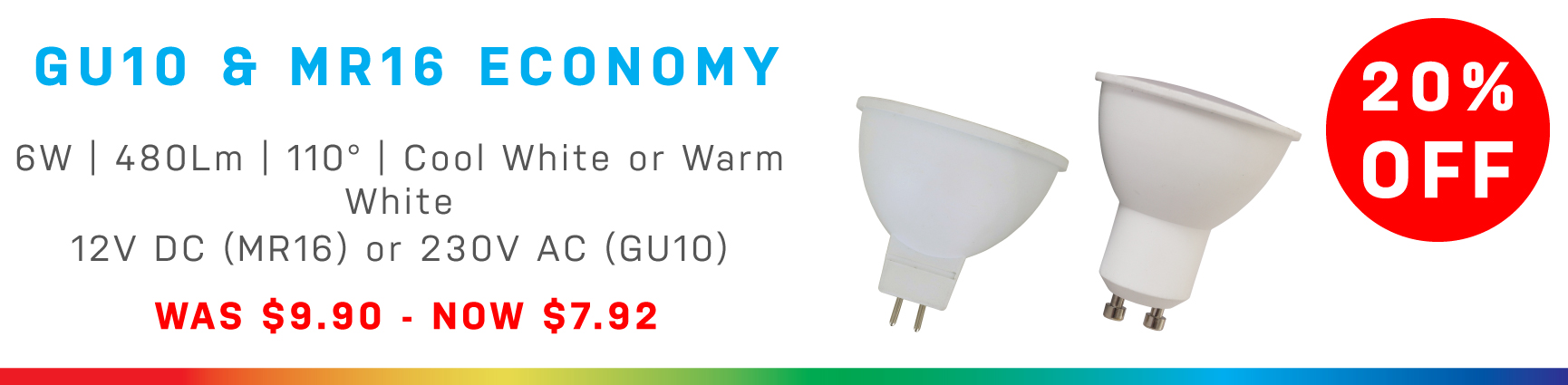 Economy Bulb Range - 20% off!